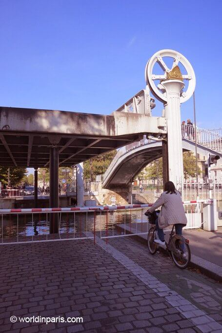 biking canal ourcq paris