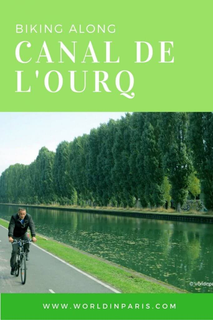 Paris by bike. What about a nice ride along one of the Parisian channels? Come and follow us along Canal de l'Ourcq with this DIY bike tour.