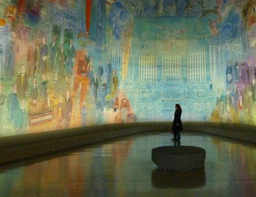 Modern Art Museum Paris