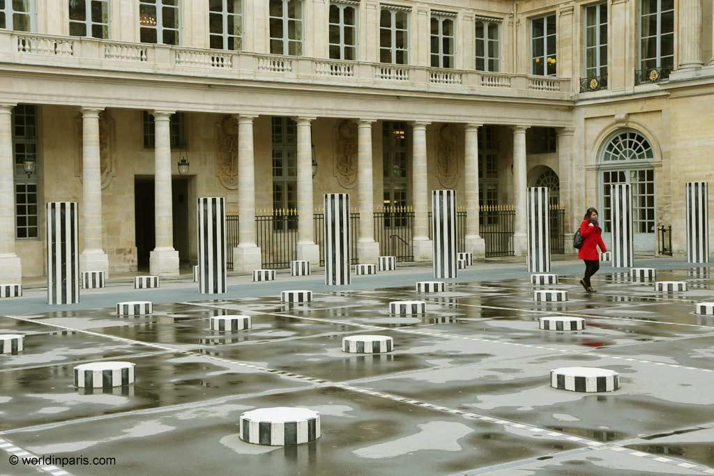 Buren Columns - Palais Royal