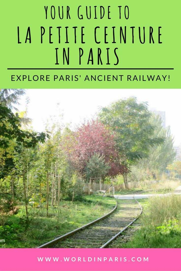 La Petite Ceinture Paris, Paris Hidden Gems, Paris Off the Beaten Track, Paris Like a Local, Paris Travel Inspiration, Paris Bucket List, Paris Walks, Paris Outdoors #moveablefeast #paris #petiteceinture