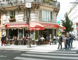 Parisian Cafe - 3rd Arrondissement of Paris