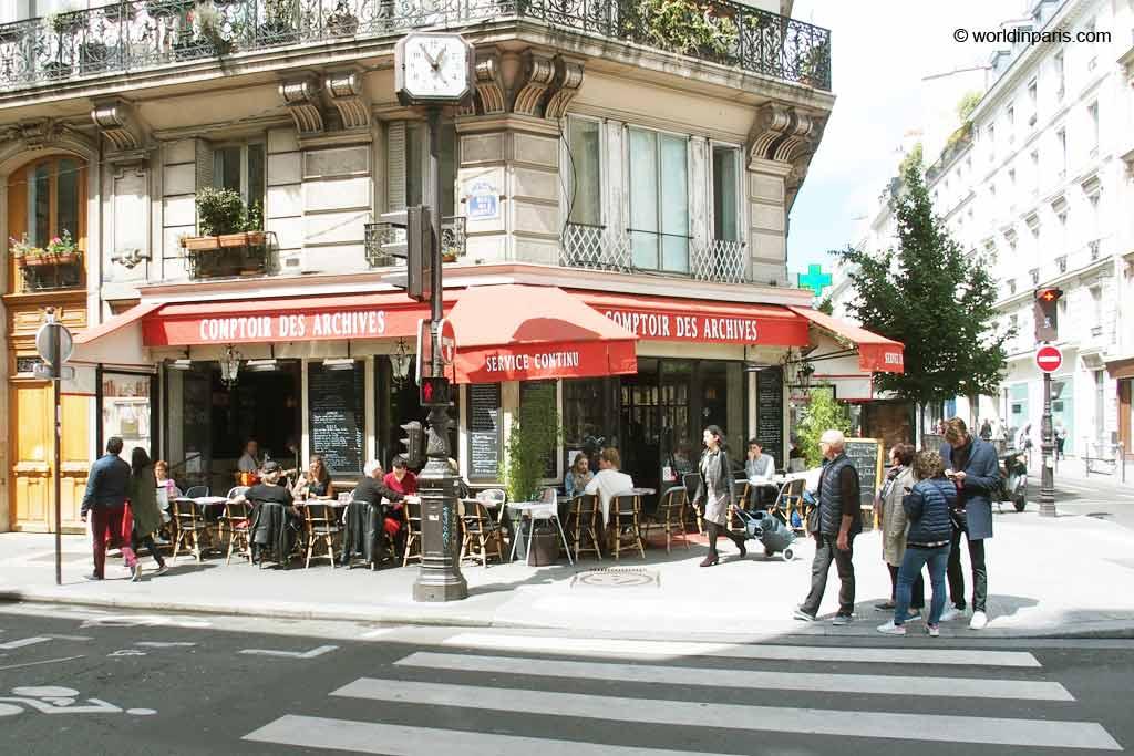 Parisian Cafe - 3rd Arrondissement of Paris