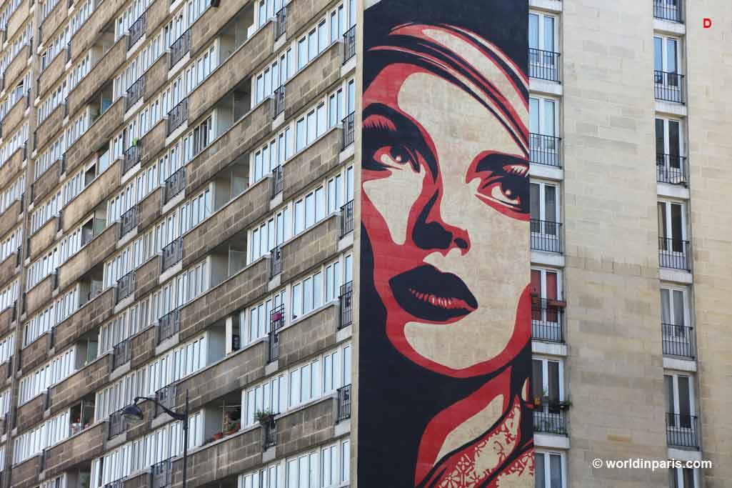 Street art paris 13 butte aux cailles the mural program for Bureau de poste paris 13 avenue d italie