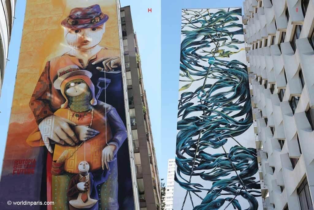 Street Art Paris 13