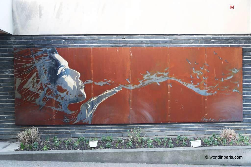 Street art paris 13 butte aux cailles the mural program for Extra mural program