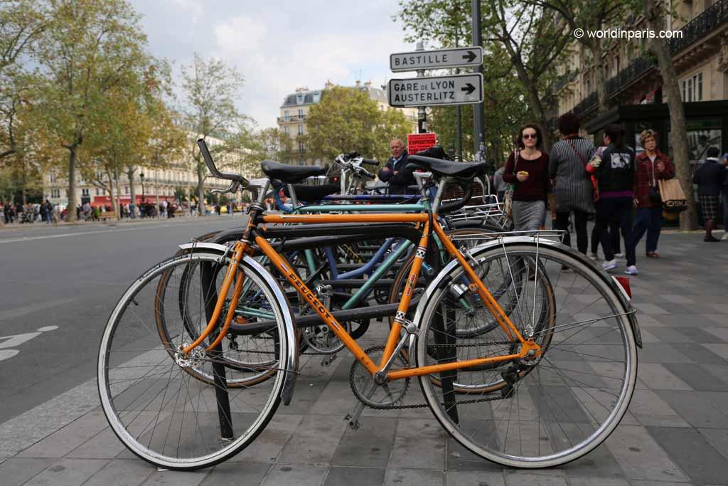 Vintage Bikes in Paris