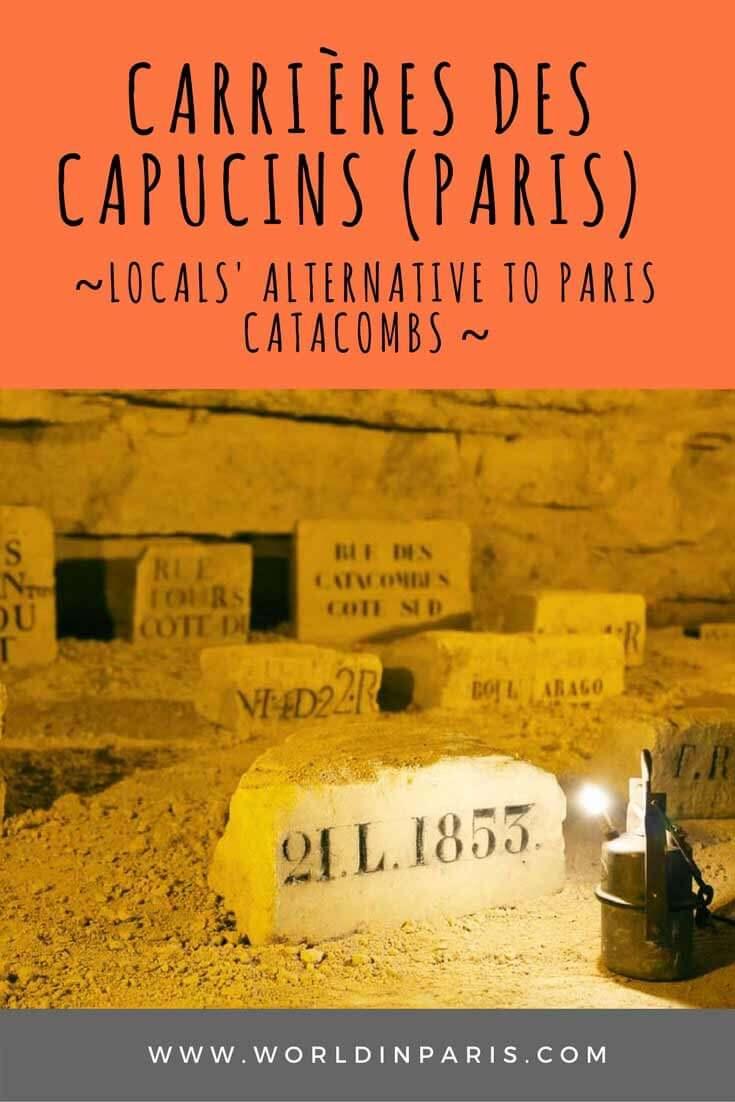 Carrières des Capucins in Paris