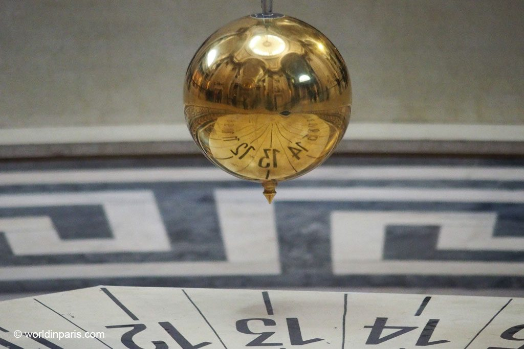 Paris the Latin Quarter - Foucault Pendulum