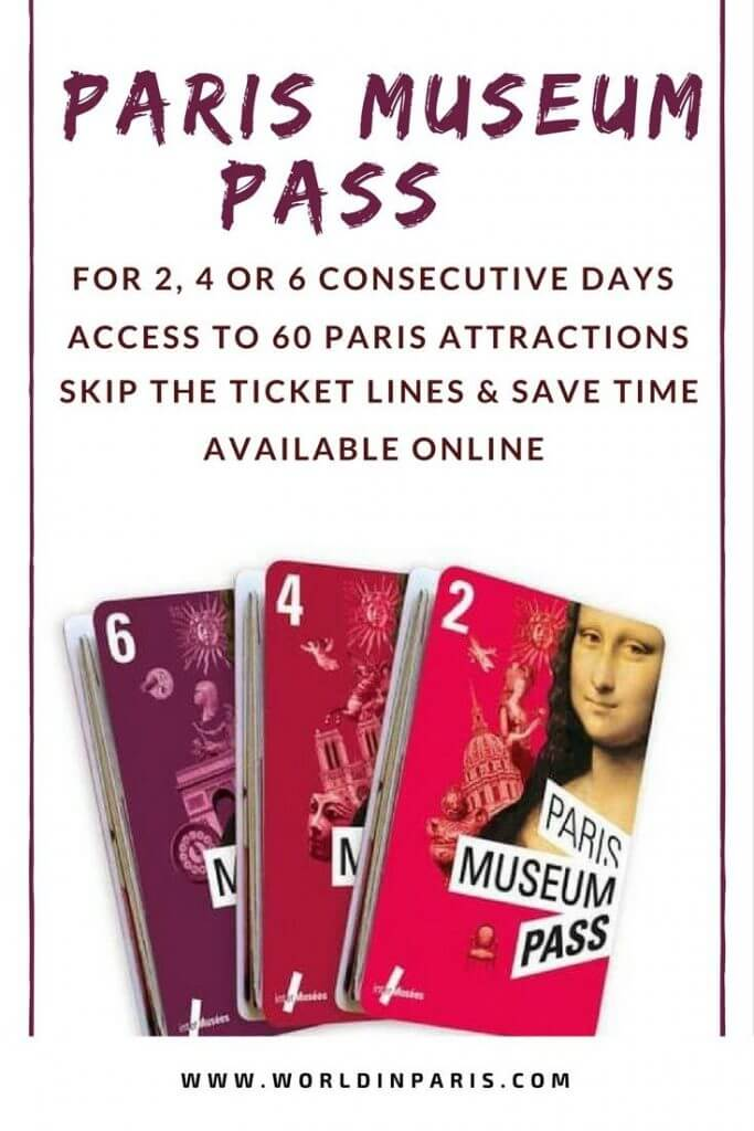 Paris Museum Pass Review, is it worth it? Paris Museum Pass gives access to 60 museums, monuments in Paris It also gives priority admission, skip long lines