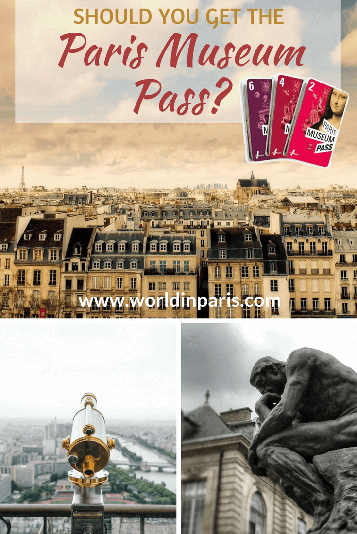 Paris Museum Pass: is it worth getting? The Paris Museum Pass gives access to 60 museums, monuments and attractions in Paris. It also gives priority admission and lets you skip the long lines. But is it right for you? Read our review and find out!