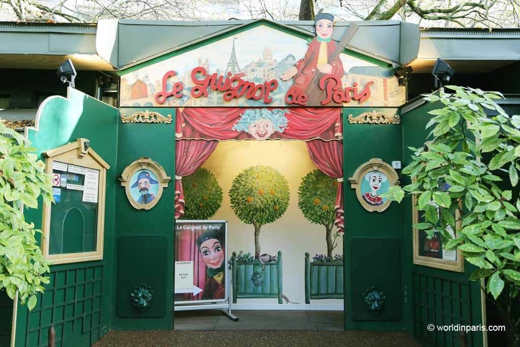 Fun family activities in Paris. Gignols of Paris