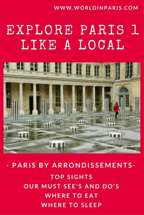 Paris 1 Like a Local | Historic centre and Louvre Paris Districts | 1st Arrondissement Paris | Paris Travel Inspiration | Paris Bucket List | Paris City Guides | Paris Arrondissement Guide