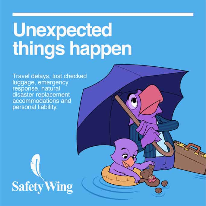 SafetyWing Travel Insurance