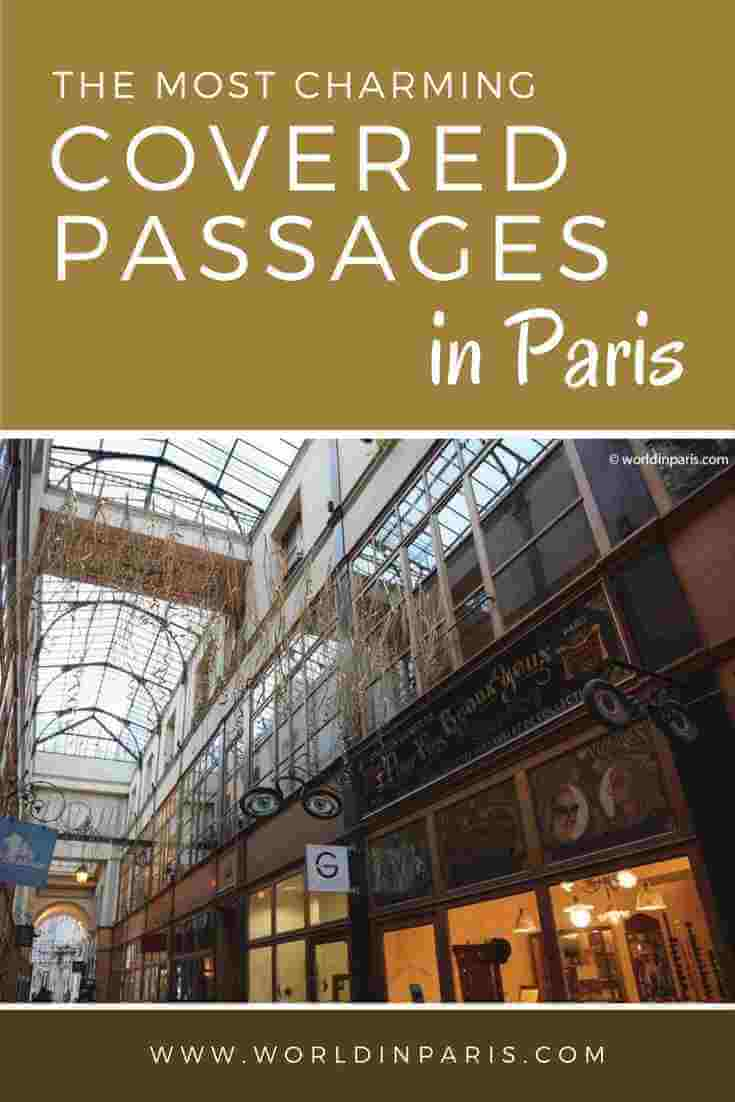Covered Walkways in Paris | Paris Like a Local | Paris Travel Inspiration | Paris Architecture | Paris Shopping | Vintage Shopping | Cute Cafes in Paris