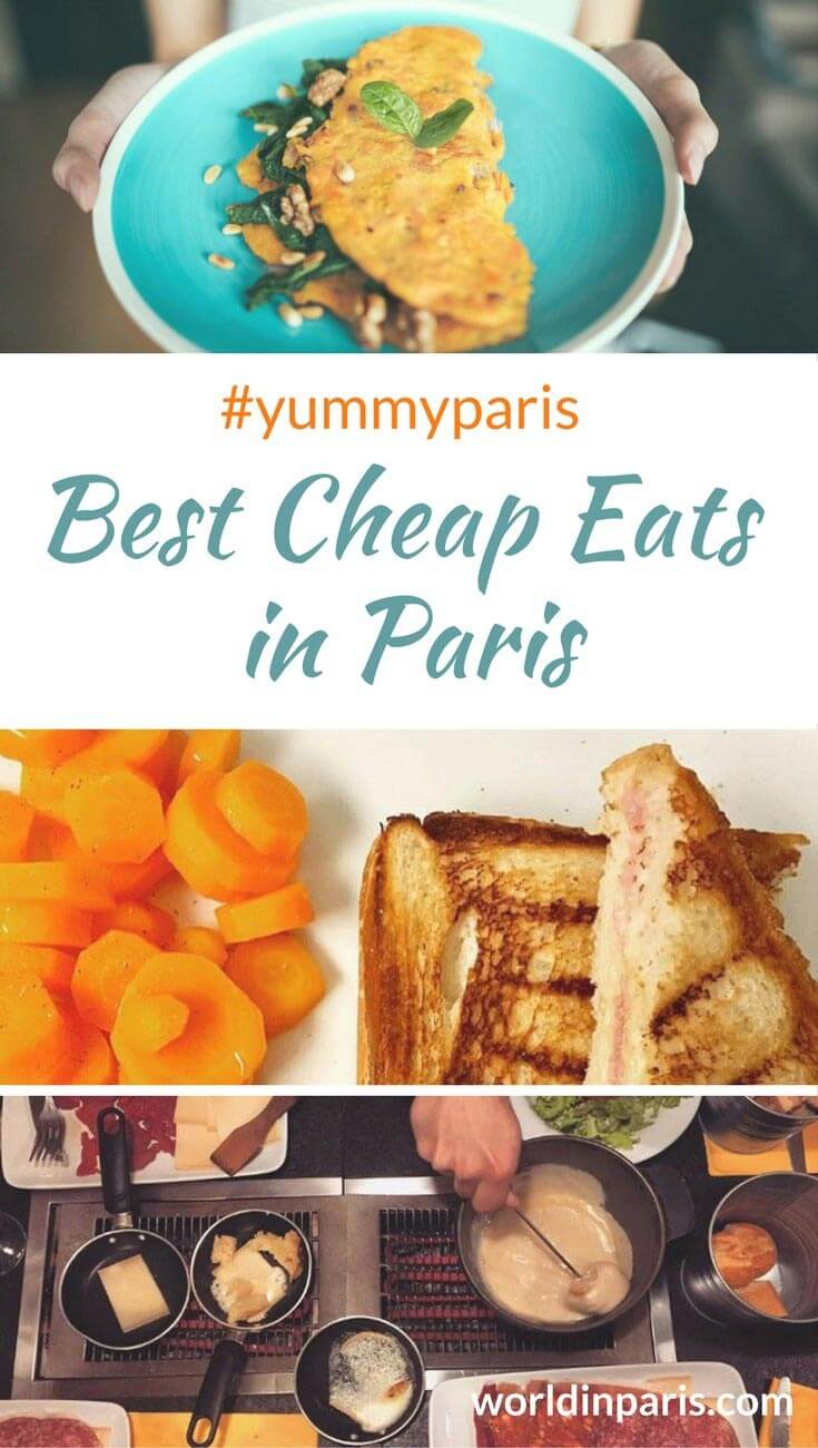 Best Cheap Eats in Paris, Paris Food, Food in Paris, Things to Eat in Paris, Popular Food in Paris, Street Food in Paris #cheapeatsparis #streetfoodparis #yummyparis #parislikealocal #parisianer #paris