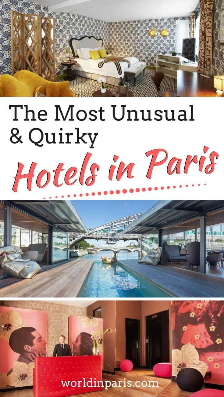 Paris Hotels, Accommodation in Paris, Where to Stay in Paris, Quirky Hotels in Paris, Unusual Hotels in Paris, Unique Hotels in Paris, Trendy Hotels Paris, Cool Hotels in Paris, Paris Travel Tips, #quirkquihotelsparis #besthotelsparis #paris #paristravelplanner