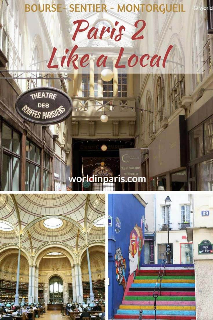 Paris 2 Like a Local, Bourse, Quartier du Sentier, Quartier Montorgueil, Paris Districts, Covered Passages Paris, 2nd Arrondissement of Paris, Paris Travel Inspiration, Paris Bucket List, Paris City Guides, Paris Arrondissement Guide #parislikealocal #parisianer #paris