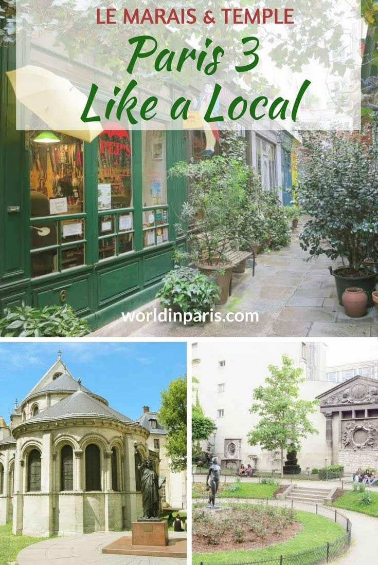 Paris 3 Like a Local, Le Marais and Temple, Paris Districts, Arts et Métiers Museum, Picasso Museum, 3rd Arrondissement of Paris, Paris Travel Inspiration, Paris Bucket List, Paris City Guides, Paris Arrondissement Guide #parislikealocal #parisianer #paris