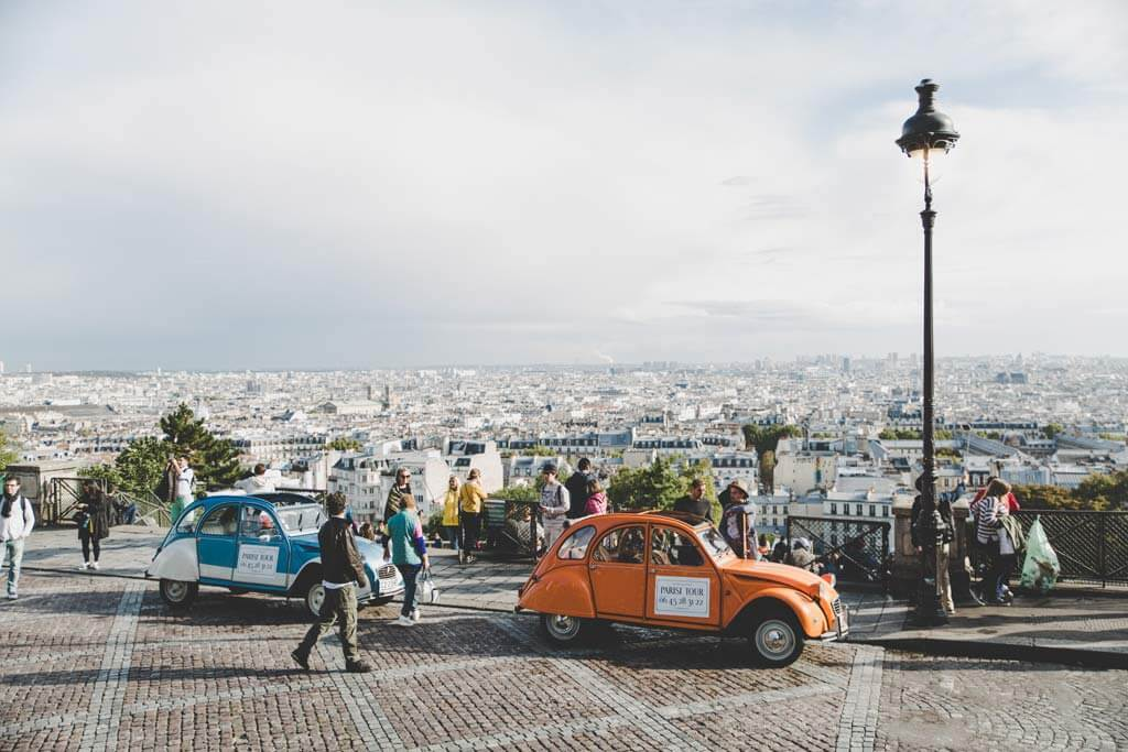Vintage Drive - Romantic Things to do in Paris