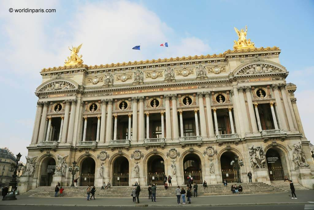 Opera Garnier Paris One Of The Most Beautiful Places To Visit In Paris World In Paris