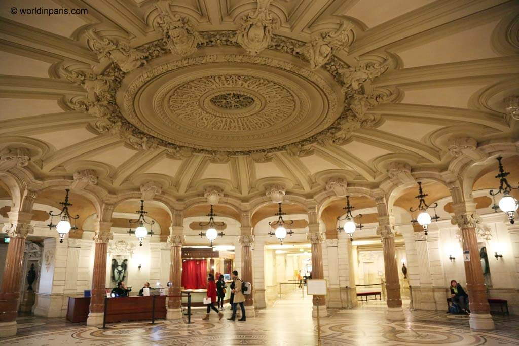 Opera Garnier Rotonde Abonnées