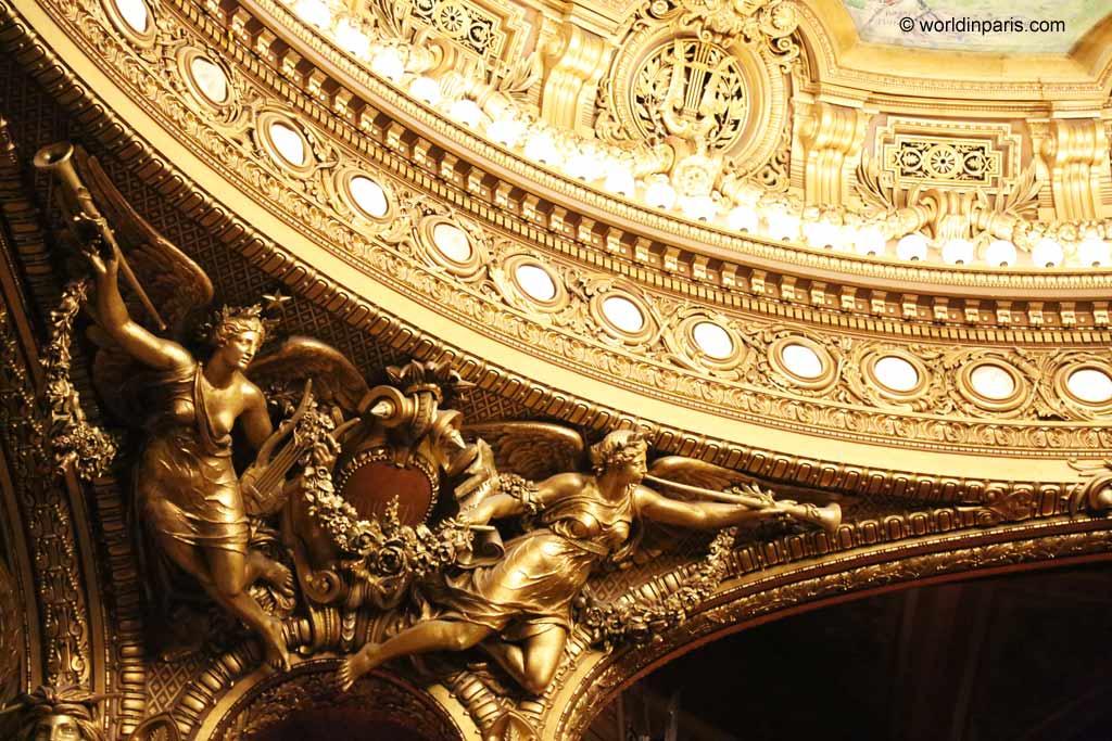 Opera Garnier Detail