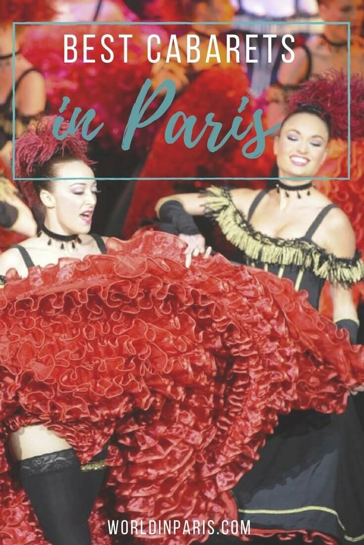 Best Cabarets in Paris, Paris Cabaret Guide, Paris at night, Cabaret Show Paris, le Lido Paris, le Moulin Rouge Paris, le Crazy Horse Paris, Cabaret Paradis Latin Paris, Best Parisian Cabarets, Paris Travel Inspiration, Paris Bucket List, Paris City Guides #moveablefeast #parisianer #paris