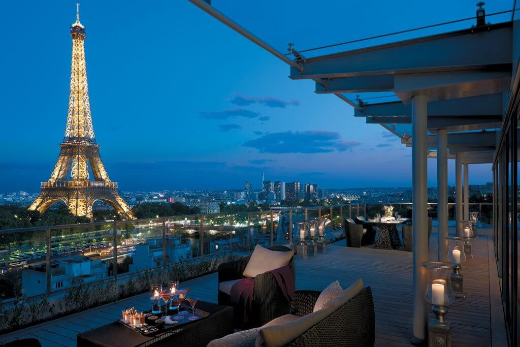 Best Paris Hotels With Eiffel Tower View World In Paris