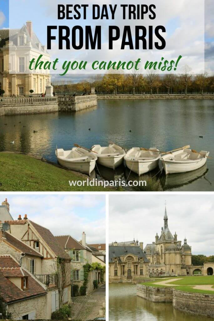 Best Day Trips from Paris, Paris Day Tours, Cute Small Towns Near Paris, Day Trips from Paris, Paris Day Trips, Best Places to Visit in France, Beautiful Towns Near Paris, Medieval Towns Near Paris #france #francebucketlist