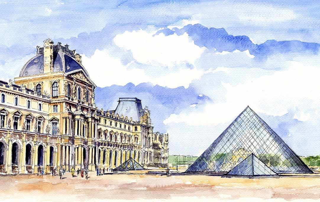 Louvre Palace - Paris