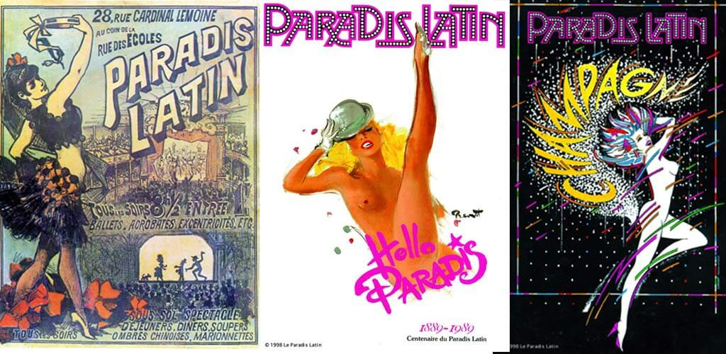 Paradis Latin Collage