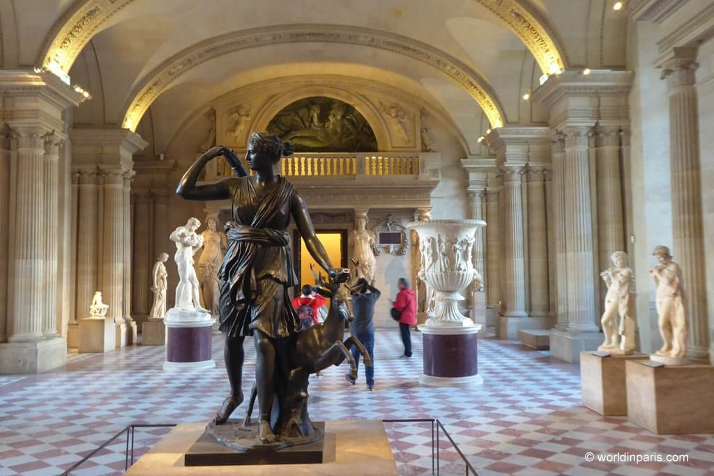 Louvre Palace - Salle des Caryatides