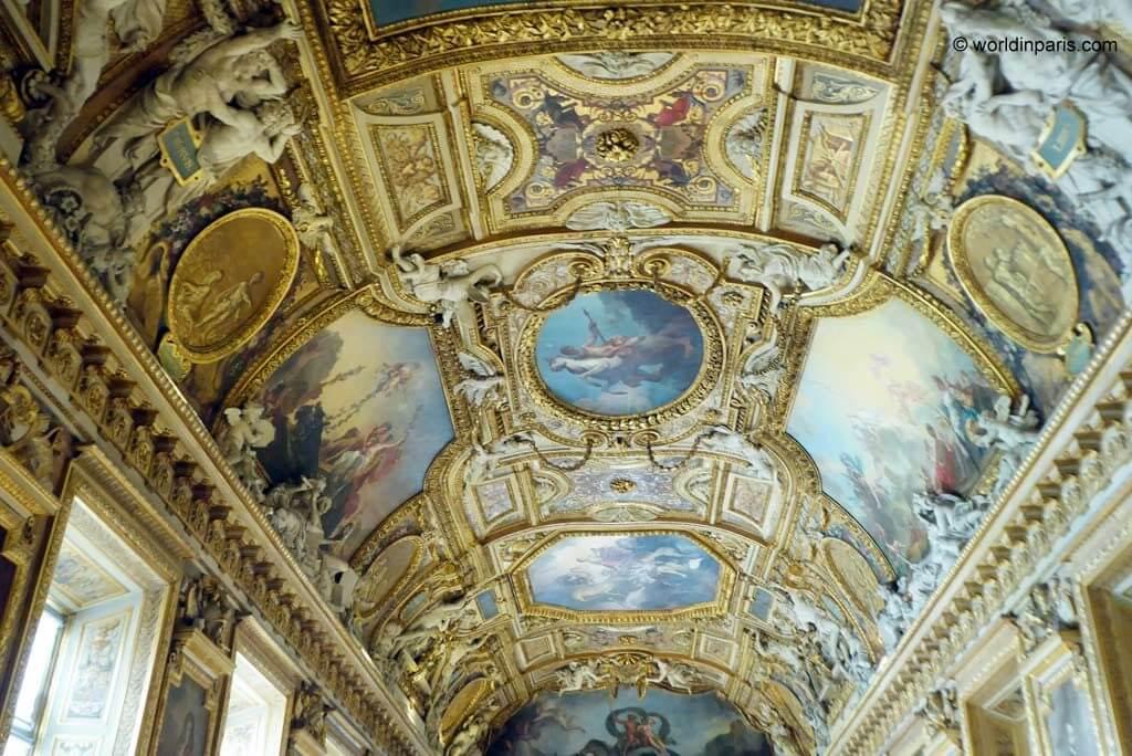 Palais du Louvre - Galerie d'Apollon