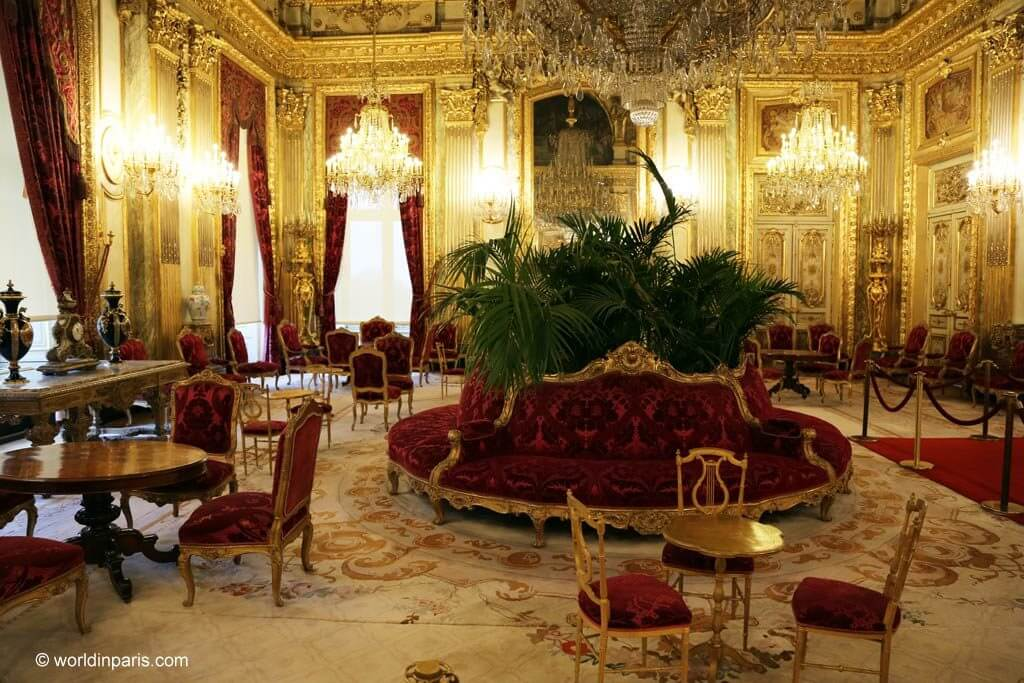 Palais du Louvre - Napoleon iii apartments