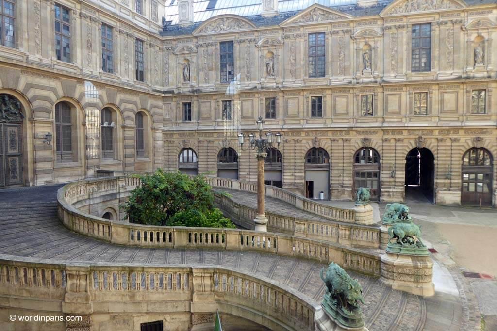 Louvre Palace - Lefuel Courtyard