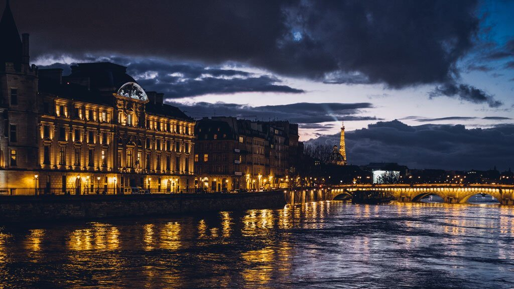 Seine River Night Stroll