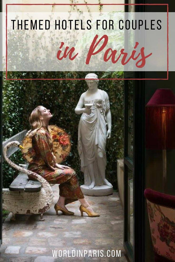 Quirky hotels in Paris, funky hotels in Paris, themed hotels in Paris for couples, where to stay in Paris France, small boutique hotels in Paris, quirky Paris, design hotel in Paris, unusual hotels in Paris, unique hotels in Paris #parisbucketlist #paris