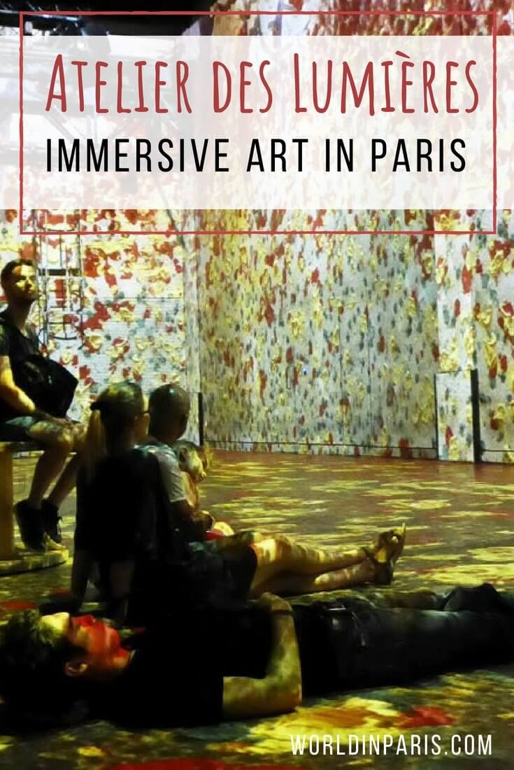 Immersive Art in Paris, Atelier des Lumières Paris, Digital Art Installation, Immersive Experiences Paris, Mind-blowing experiences in Paris, Digital Art Center Paris