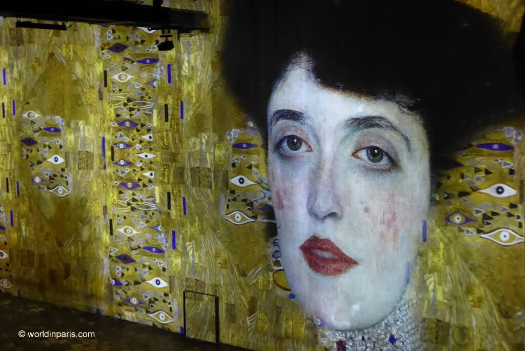 Klimt Woman in gold