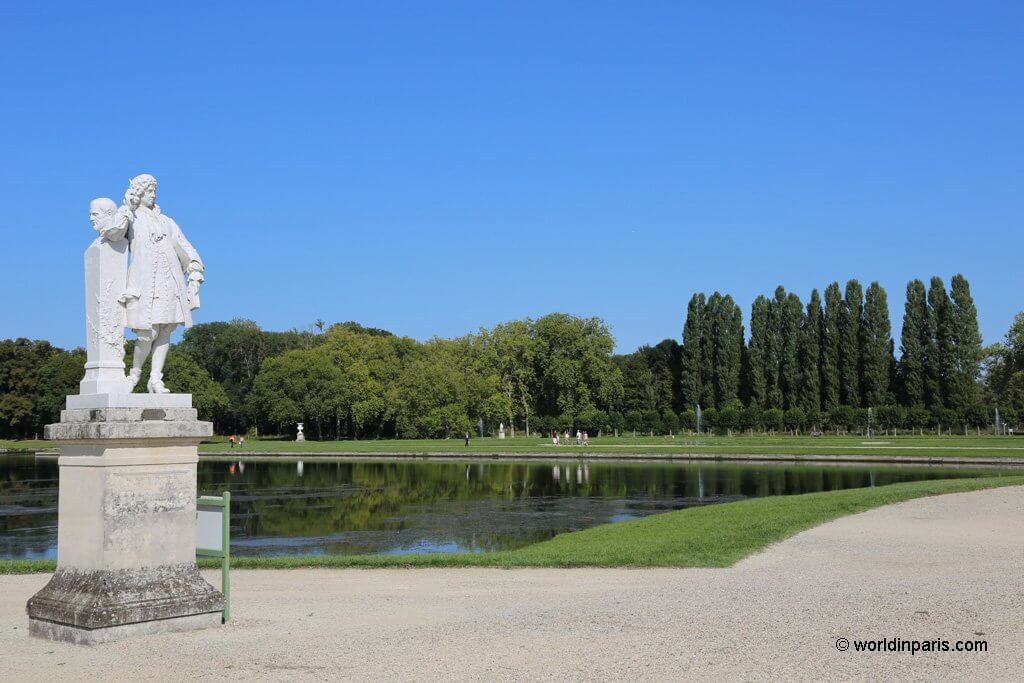 French Garden in Chantilly