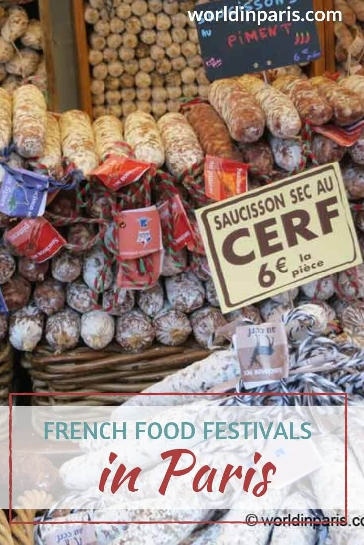 Best French Food Festivals Paris, Paris Food Culture, Paris Food Tasting, Traditional French Food, Best Eats in Paris, Paris Street Food, Festival of Food Paris #moveablefeast #yummyparis #frenchfood