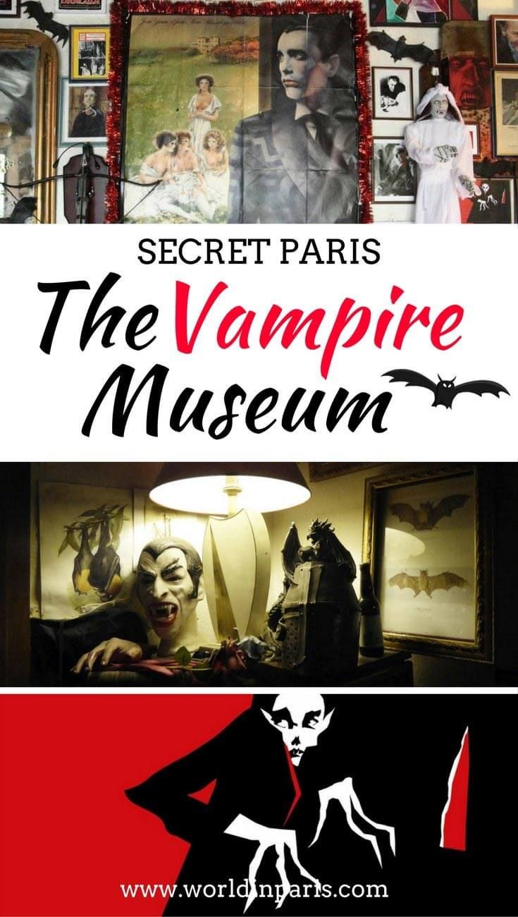Paris Vampire Museum, Things to do in Paris, Paris Travel Inspiration, Secret Paris, Paris Secret Spots, Paris Hidden Gems, Musée des Vampires Paris #myparis #moveablefeast #paris #halloween