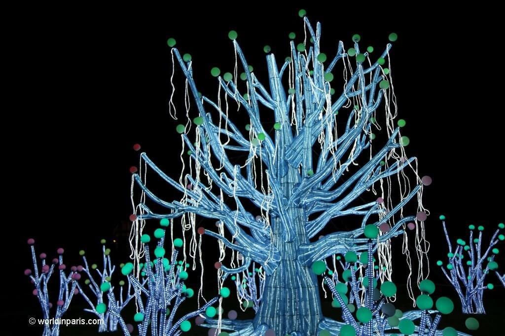 Light Festival Jardin des Plantes Paris