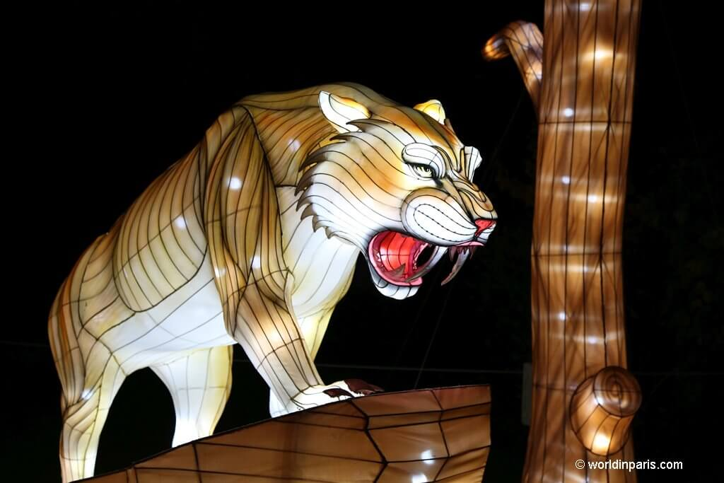 Lights Festival at Jardin des Plantes