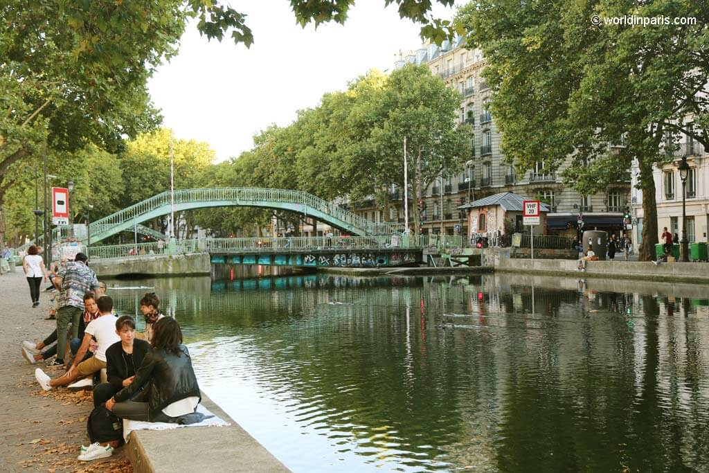 Paris 10 - Canal Saint-Martin