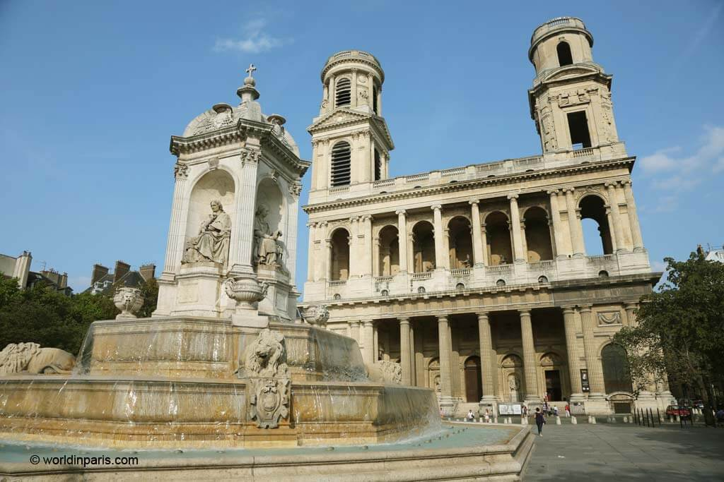Paris 6 - Saint Sulpice Church