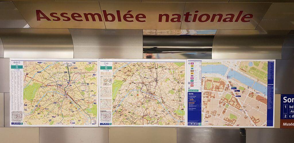 Paris Metro Maps