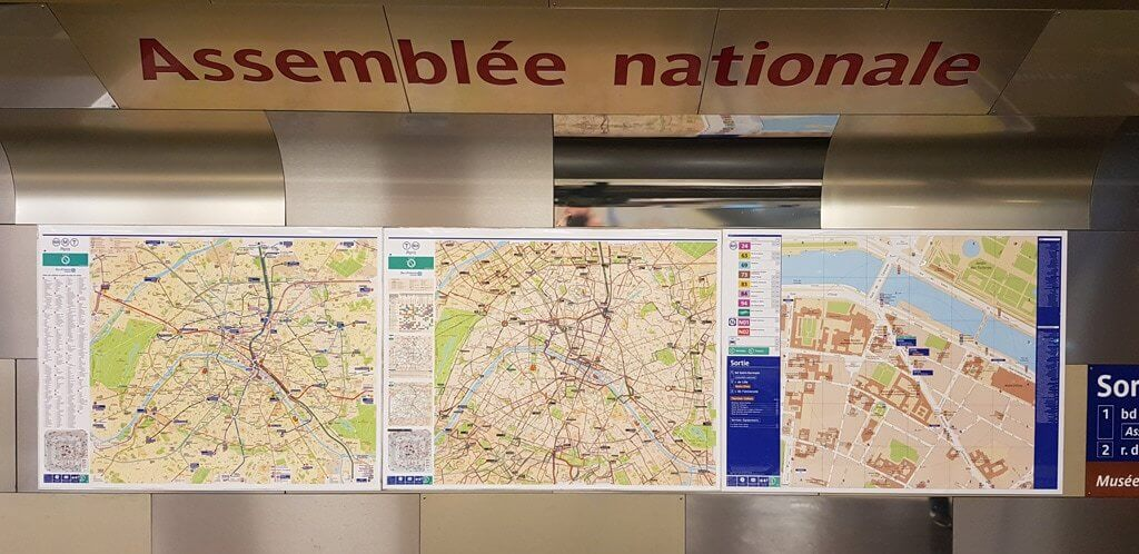 Paris Metro Maps