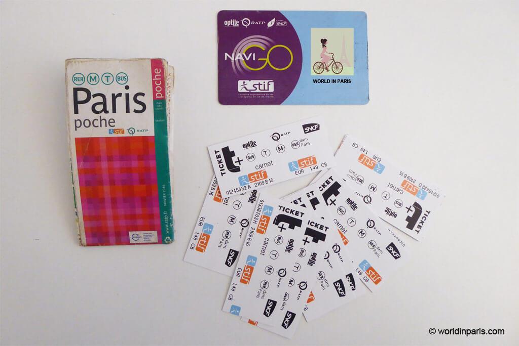 Paris Metro Passes